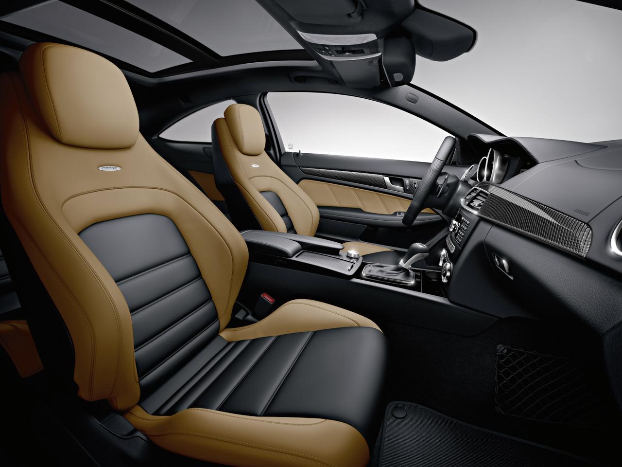 Amg версия нового купе mercedes c класса
