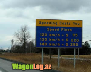 speed limit cost in dollars