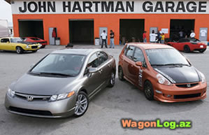 honda civic and fit